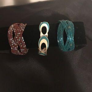 Festive bracelets